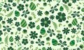 Beautiful leaf and floral design, for Easter pattern background design