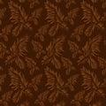 Beautiful leaf seamless Royalty Free Stock Photo