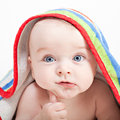 Beautiful little baby boy Royalty Free Stock Photography