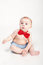 Beautiful little baby boy Stock Photo