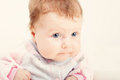 Beautiful little baby girl Royalty Free Stock Photo
