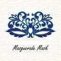 Beautiful Masquerade mask of lace.