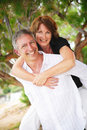 Beautiful mature couple in love Royalty Free Stock Image