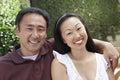 Beautiful Mature Couple Smiling Stock Image