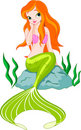 Beautiful Mermaid Royalty Free Stock Images