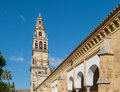 Beautiful mezquita cathedral cordoba andalusia spain Royalty Free Stock Photography