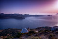 Beautiful milos seascape greece Royalty Free Stock Images