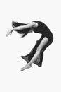 Beautiful modern dancer girl