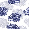 Beautiful modern seamless hand drawn coral pattern vector illustration design for fashion ,fabric,waalpaper,web and all prints