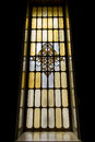 The Beautiful Mosaic window in Museum Royalty Free Stock Photo