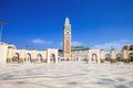 Beautiful  mosque Hassan second, Casablanca, Morocco Royalty Free Stock Photo