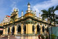 A Beautiful Mosque in Singapore Royalty Free Stock Photo