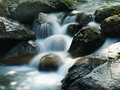 Beautiful mountain stream Royalty Free Stock Photo