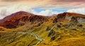 Beautiful mountains from Transalpina Royalty Free Stock Photography