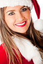 Beautiful Mrs. Claus Stock Photo