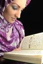 stock image of  Beautiful Muslim fashion girl
