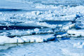 Beautiful nature, ice Royalty Free Stock Photos