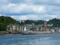 Beautiful oban on summer time scoltand Royalty Free Stock Image