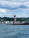 Beautiful oban on summer time scoltand Stock Image