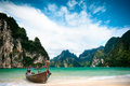 Beautiful ocean beach krabi thailand Royalty Free Stock Photos