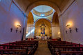 A Beautiful Old Chapel Inside the Historic Old West Spanish Mission San Jose Royalty Free Stock Photo
