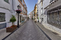 Beautiful old city marbella in spain andalusia Royalty Free Stock Images