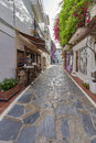 Beautiful old city marbella in spain eu Royalty Free Stock Images