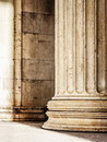 Beautiful old columns close up Royalty Free Stock Images