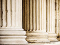 Beautiful old columns close up Royalty Free Stock Image