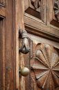 Beautiful old door handle Royalty Free Stock Photo