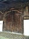 stock image of  beautiful old door