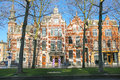 Beautiful old house in the center of Den Bosch Royalty Free Stock Photo