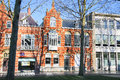 Beautiful old house in the center of the Dutch city of Den Bosch Royalty Free Stock Photo