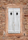 Beautiful old italian window Stock Photos