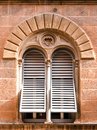 Beautiful old window italy Stock Photography