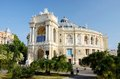 Beautiful opera and ballet house in odessa ukraine famous landm landmark Stock Photos