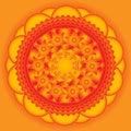 Beautiful orange background with stars Royalty Free Stock Photo