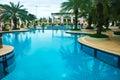 Beautiful outdoors Swimming pool Stock Photo