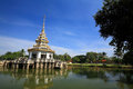 Beautiful pagoda on a lake Royalty Free Stock Photo