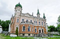 Beautiful palace in lvov ukraine building donated for by metropolitan andrey sheptitsky for national museum Royalty Free Stock Photography