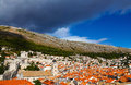 Beautiful panorama of Dubrovnik, Croatia Stock Photography