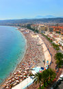Beautiful panorama of Nice, France Royalty Free Stock Photos