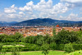 Beautiful panoramic view florence italy Stock Photography