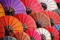 Beautiful paper umbrellas Royalty Free Stock Photo