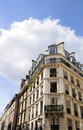 Beautiful Parisian streets Royalty Free Stock Photography
