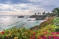 Beautiful park at Laguna Beach Royalty Free Stock Photo