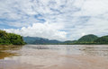 The beautiful parts of the Kong  river,Laos. Royalty Free Stock Image