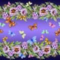 Beautiful Peony Flowers And Bu...