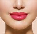 Beautiful Perfect Lips Royalty Free Stock Photo