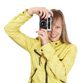 Beautiful photographer Stock Image